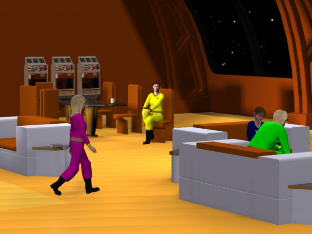 Raegan and RJ in Space 3D Animated Adventure Vol 1