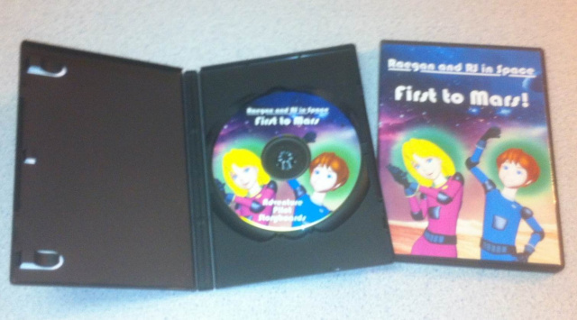 'Raegan and RJ in Space: First to Mars' Animated Adventure DVD