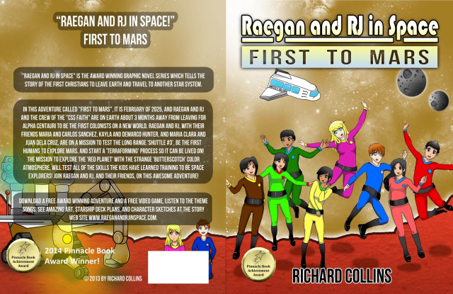 First to Mars graphic novel for download