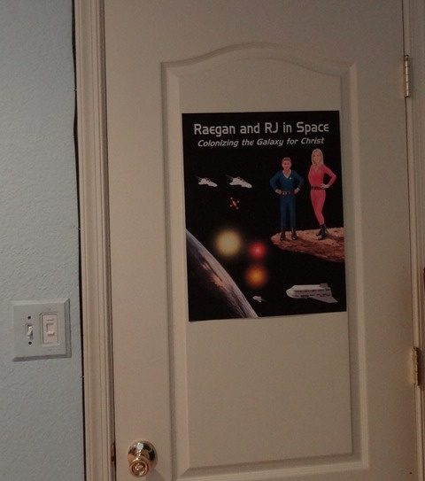 'Raegan and RJ in Space' Official Poster